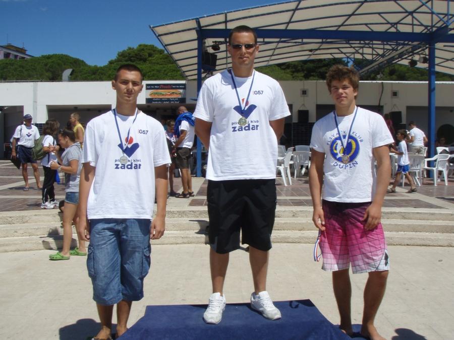 Županijsko natjecanje u plivanju, Biograd 10.08.2011.