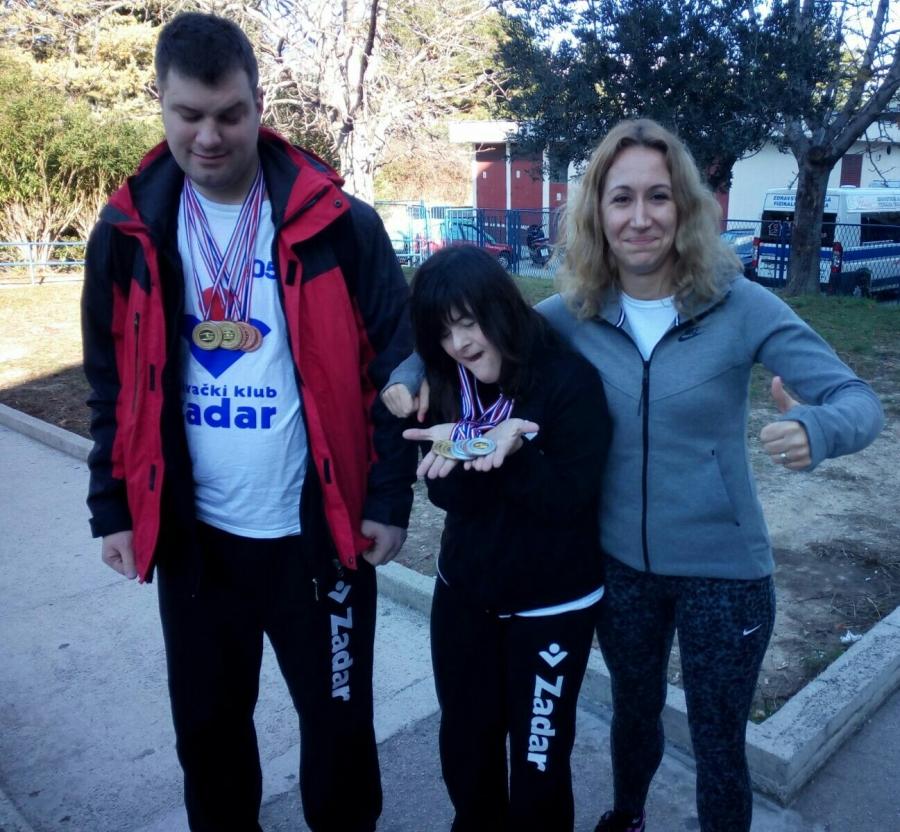 Otvoreno prvenstvo Hrvatske za osobe s invaliditetom, Split 2016.