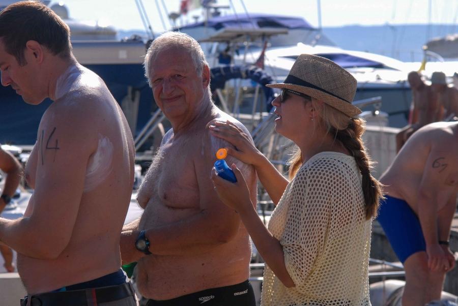 44. plivački maraton Preko - Zadar